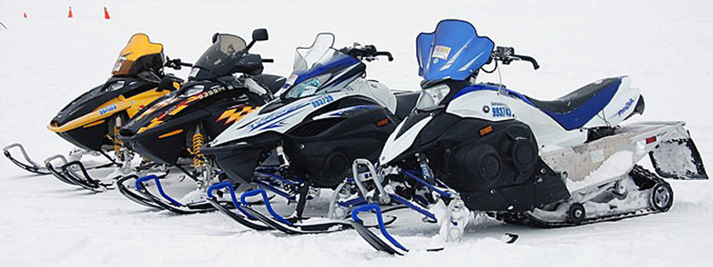 Chartered Rentals Snow Mobiles