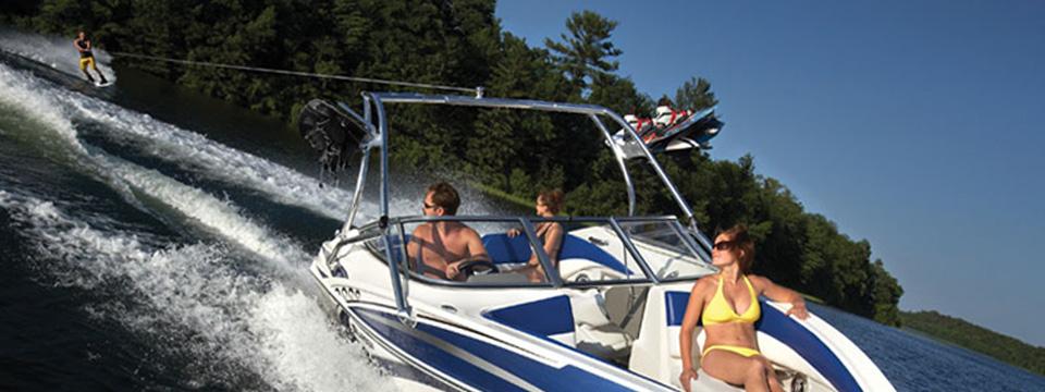 Chartered Rentals Ski Boats