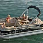 Chartered Rentals Bennington-Pontoon-20-SL-Running-1